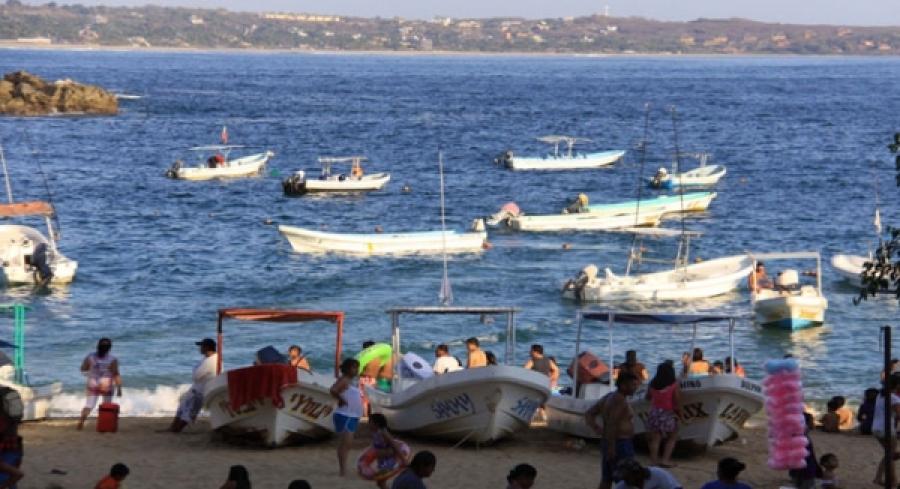 Playas de Oaxaca están listas para recibir al turismo