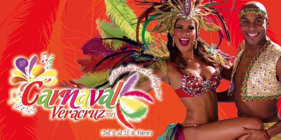 Carnaval de Veracruz 2013 del 5 al 13 de febrero