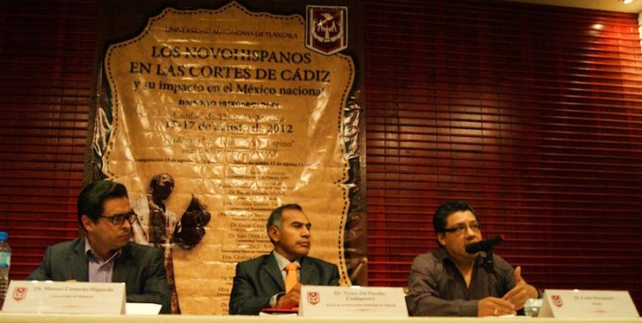 Programa del  simposio internacional  Los Novohispanos en las Cortes de Cádiz  y su impacto en el México nacional