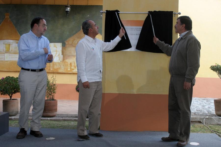 Inauguran  la zona arqueológica de Tecoaque en Tlaxcala